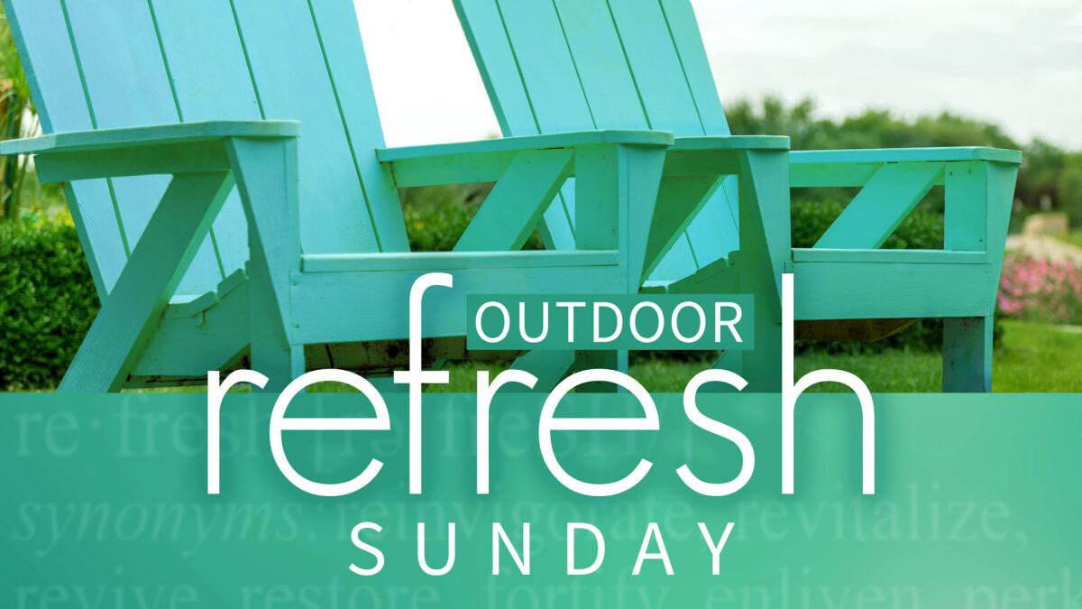 Outdoor Refresh Prayer